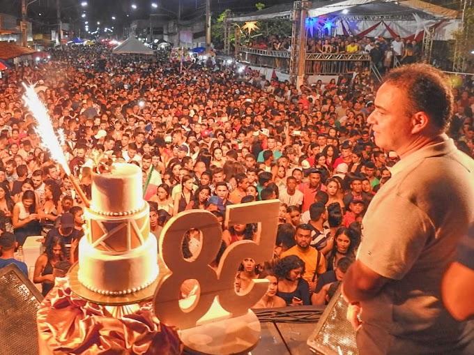 Imagens da grande festa de aniversário dos 58 anos de Igarapé Grande
