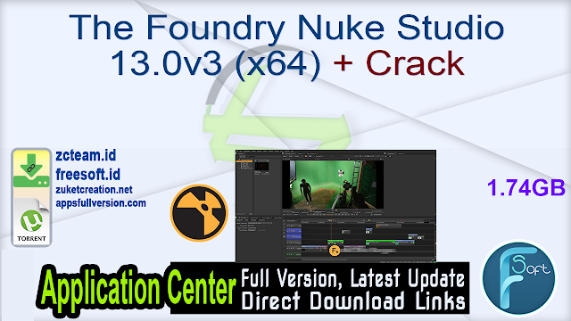 The Foundry Nuke Studio 13.0v3 (x64) + Crack_ ZcTeam.id