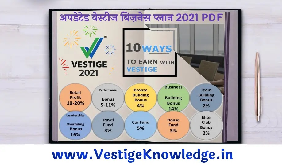 Vestige Updated Business Plan 2021 PDF