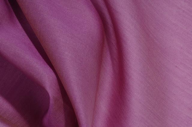 Mauve Orchid Cotton Silk Fabric