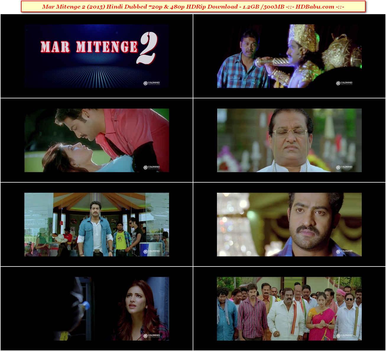 Mar Mitenge 2 Hindi Dubbed Full Movie Download