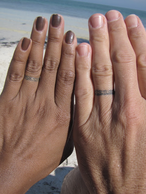 The Story Of Leilani Amp Shawn Wedding Ring Tattos Then Amp Now
