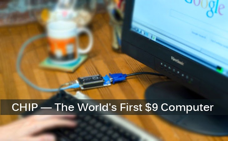 CHIP — The World's First $9 Computer