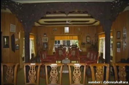 Gambar Rumah Adat Kalimantan Utara Ambir Kanan