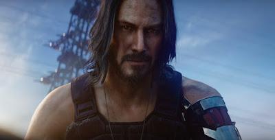 """Keanu Reeves en el nuevo trailer de """"Cyberpunk 2077""""."""