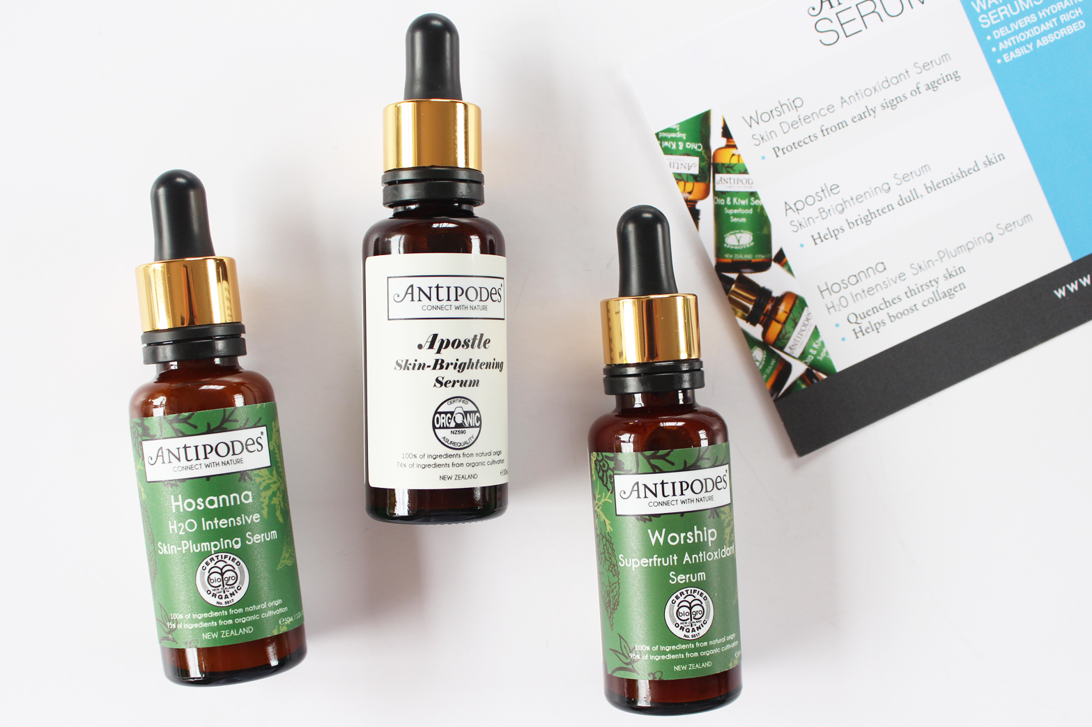 A GUIDE TO ANTIPODES SERUMS - CassandraMyee