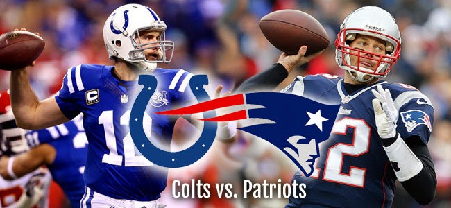 Colts vs. Patriots
