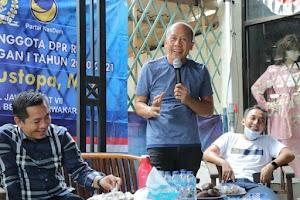 NasDem Maksimalkan 'Road Show' Menangkan Cellica-Aep