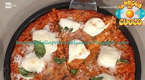 Pizza di riso ricetta Mainardi da Prova del Cuoco
