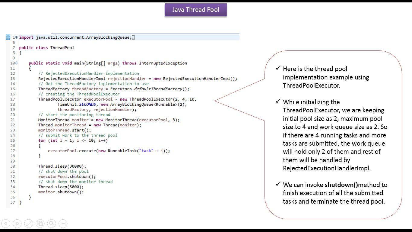 Java ee java tutorial java threads thread pool executor thread java tutorial java threads thread pool executor thread pool in java java thread pool baditri Gallery