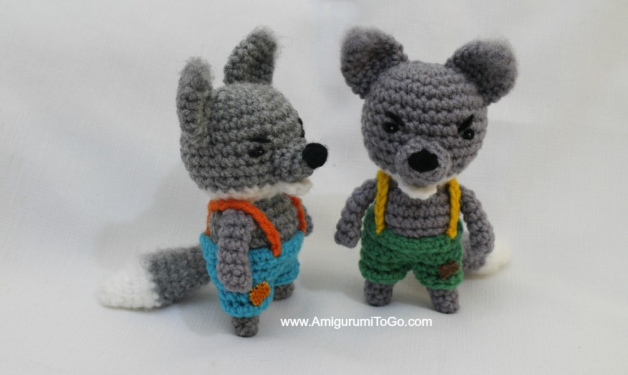 Big Bad Wolf ~ Amigurumi To Go
