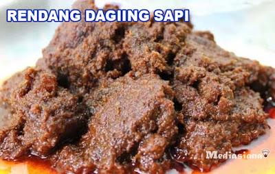resep rendang daging sapi lezat