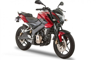 2017 Bajaj Pulsar 200NS Red image