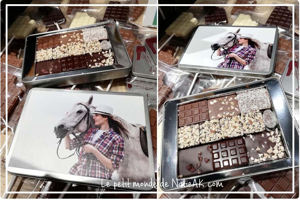chocolat personnalisé bio