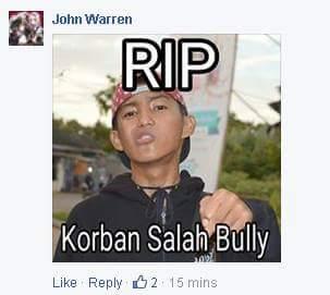 Mengejutkan! Foto Bullying Pelaku Pemukulan Yang Terlanjur Beredar Di Mediasosial Ternyata Salah Orang