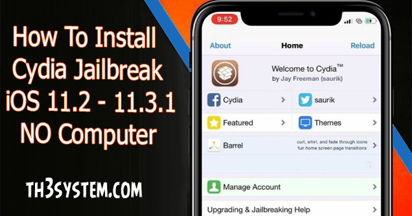 how to delete cydia ios 11