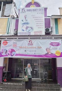 Shaqila Beauty Center Berlokasi di Ruko Jatisari Indah Kav. C1