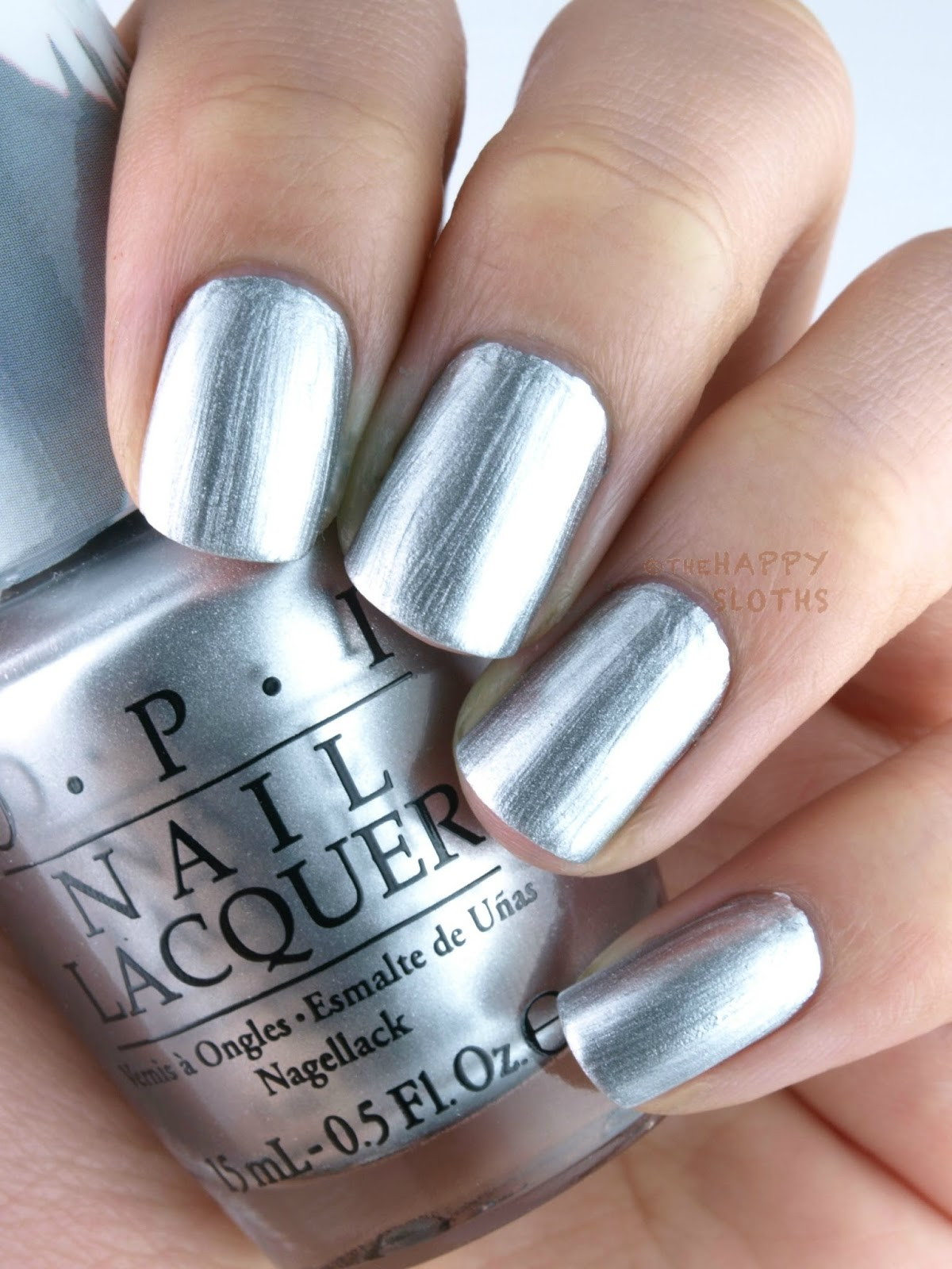 Blue Grey Nail Polish Opi