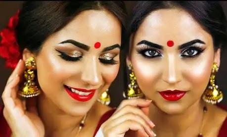 Makeup Tips for Navratri in Hindi | मेकअप टिप्स इन हिंदी फॉर नवरात्री