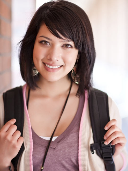 Cute Hairstyles For School 2012