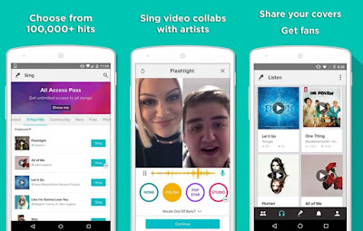 Download aplikasi Karoke Smule untuk Samsung