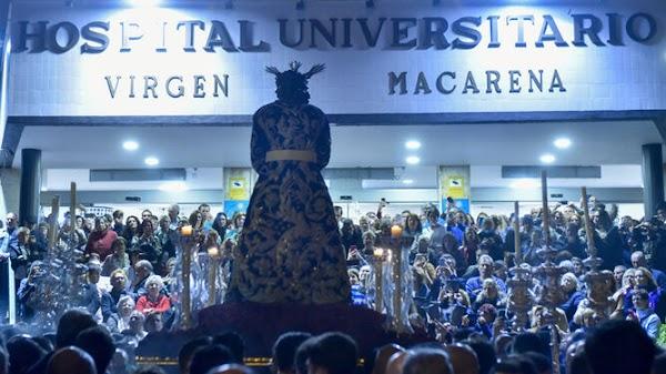 La Macarena celebrarán Vía Crucis aforados en sus templos