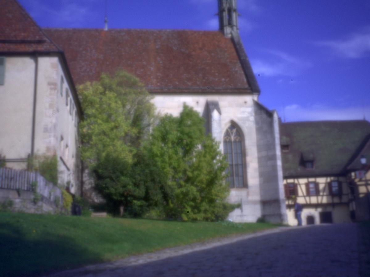 #289 Rising Pinhole f250 20mm - Kloster Bebenhausen