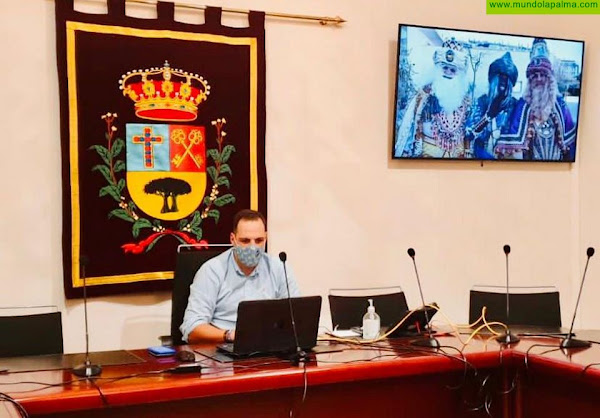 El Ayuntamiento de Breña Alta celebra una reunión virtual con Sus Majestades los Reyes Magos de Oriente