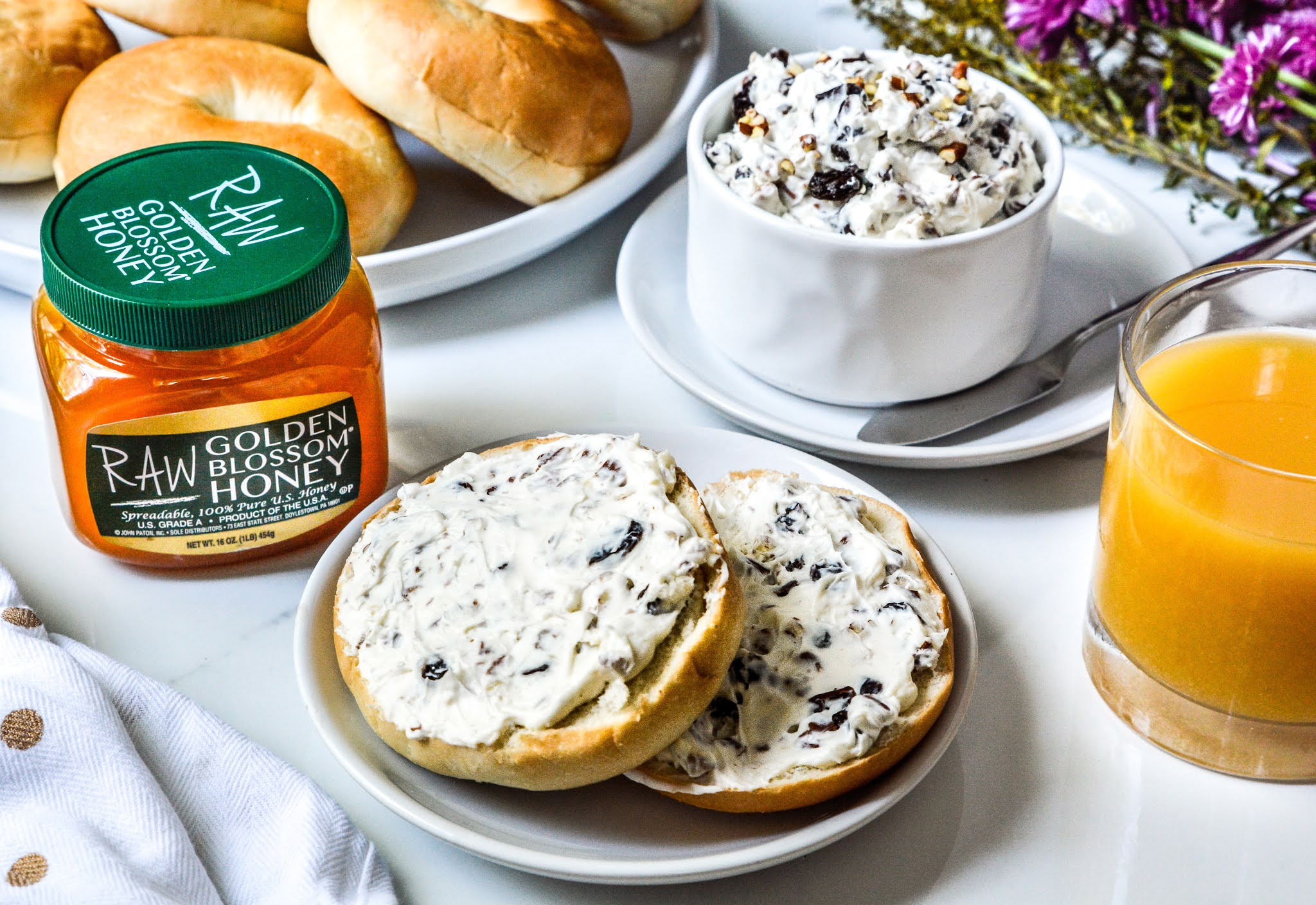 Cream Cheese Raisin Nut Spread