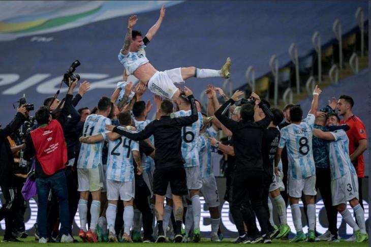 منتخب الارجنتين يفوز باللقب علي حساب البرازيل في نهائي كوبا امريكا