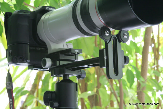 Long Lens Support Bracket overview