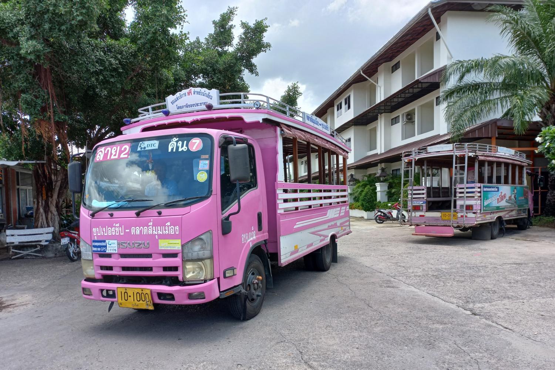 Транспорт на Пхукете в Тайланде