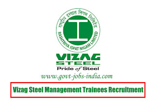 Vizag Steel MT Recruitment