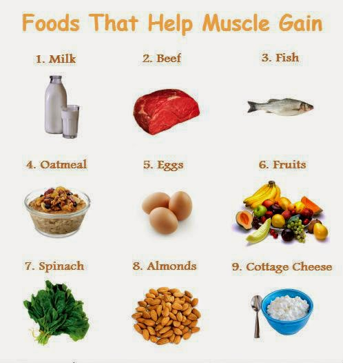 Best Foods For Working Out And Gaining Weight