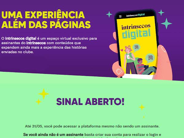 Sinal aberto no Intrínsecos Digital por tempo limitado!