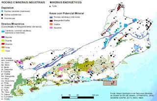 mapa de minas de ouro do rio de janeiro