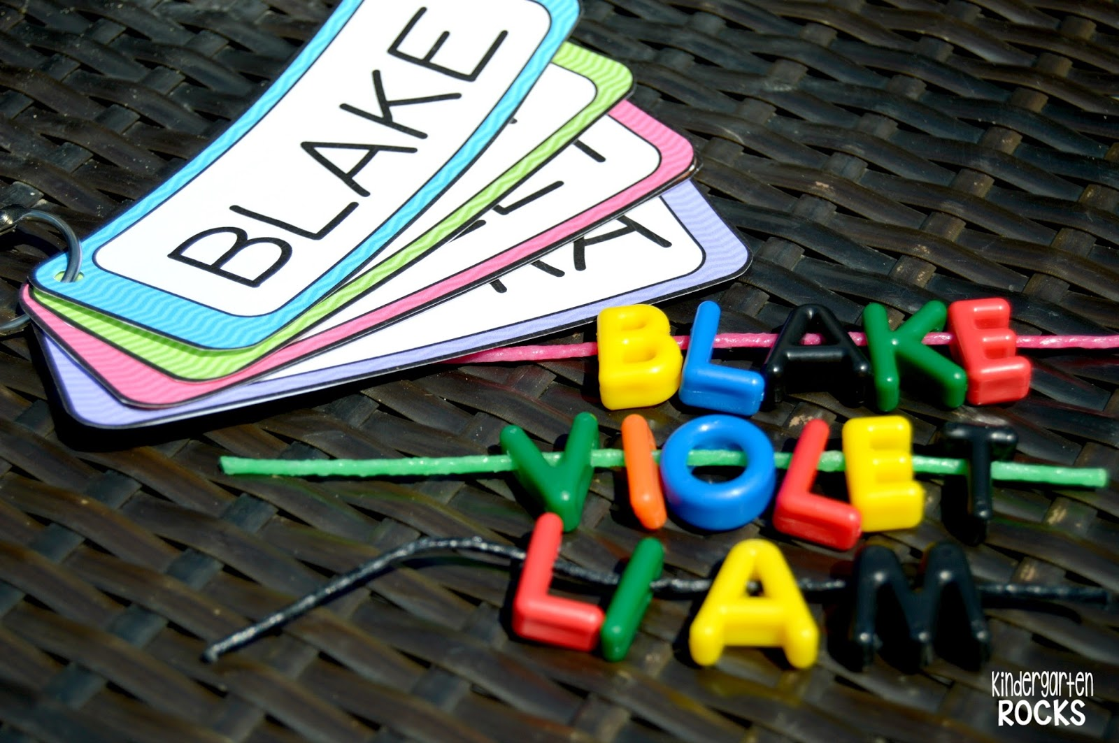 Little Giggles And Wiggles Back To School Name Activities