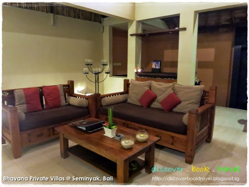 Bali Beaches; Hotel Review: Bhavana Somebody Villas, Bali - Business Office I Of 2