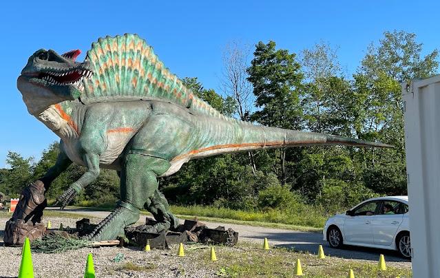 Jurassic Quest tour