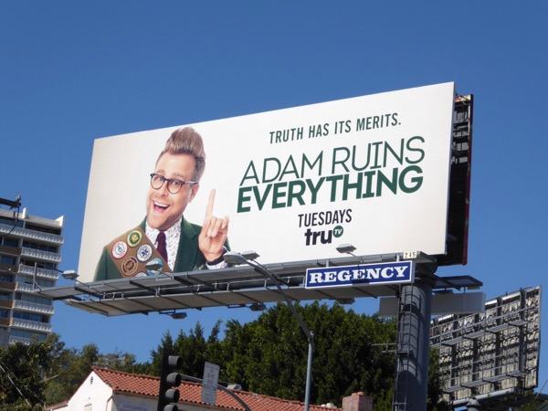 Adam Ruins Everything season 2 billboard