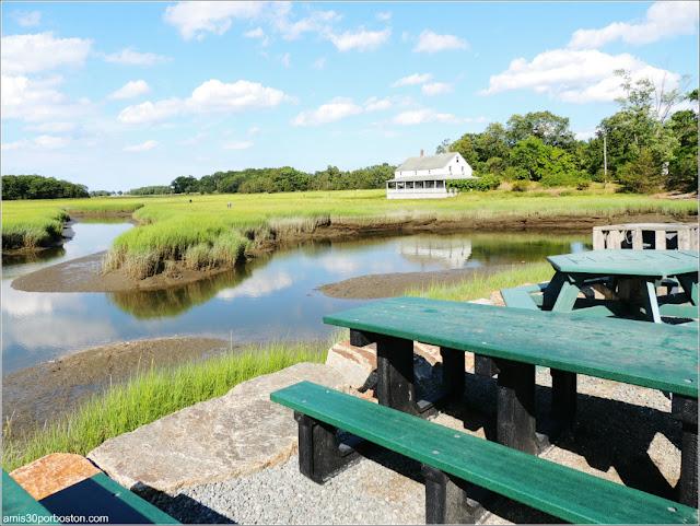 Lobster Shacks en Massachusetts: Vistas del JT Farnham's