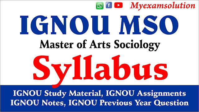 ignou mso, ignou mso syllabus pdf, ignou mso assignments, mso ignou