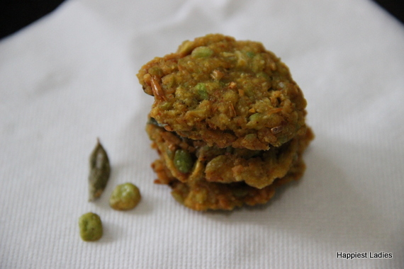 Green Peas Pakoda Easy Evening Snacks Recipe