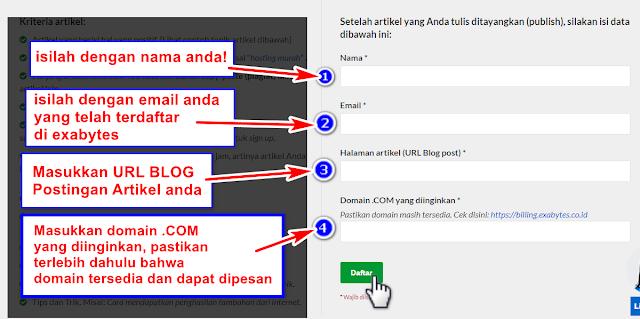 Cara Beli Domain .COM Harga Cuma 10 Ribuan