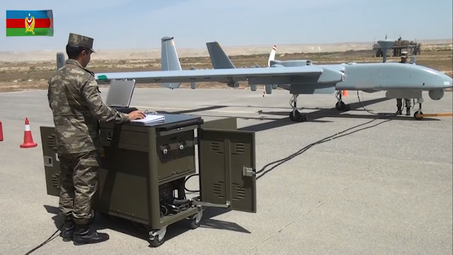 IAI Heron   Azerbaijan - suicide drone Loitering munition UAV
