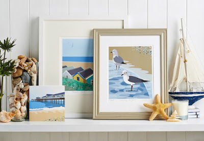 Jane Crick coastal theme designs