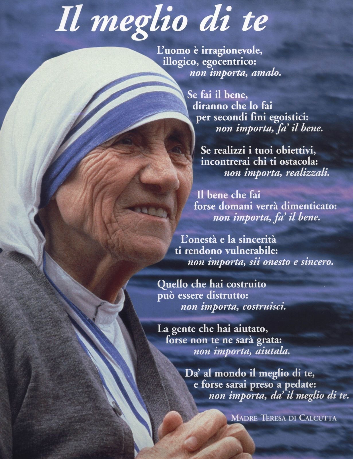 Top Scalzi sui passi di Teresa : Ricordiamo Madre Teresa di Calcutta IR62