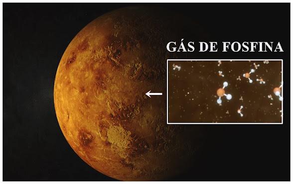 Cientistas descobrem possível existência de vida em Vênus