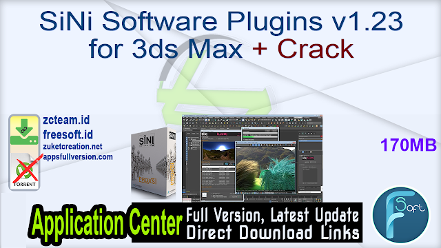 SiNi Software Plugins v1.23 for 3ds Max + Crack_ ZcTeam.id
