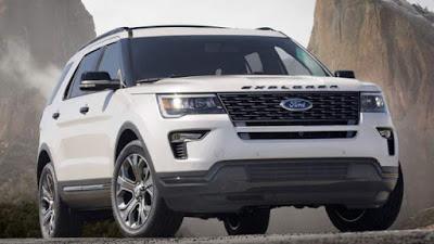 Prix Ford Explorer 2018 et date de lancement estimée
